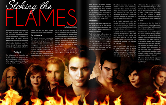 Authors Magazine – Stoking the Flames
