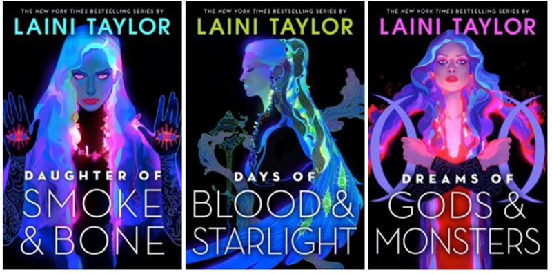 Which Daughter of Smoke and Bone cover do you prefer? - Tallulah Lucy