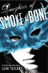 US cover for Daughter of Smoke and Bone
